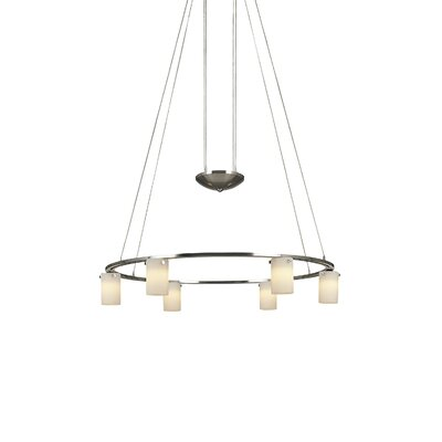 George Kovacs by Minka 6 Light Counter Weight Chandelier