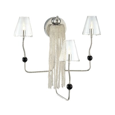 George Kovacs by Minka Families Wall Sconce with Clear Glass in Chrome