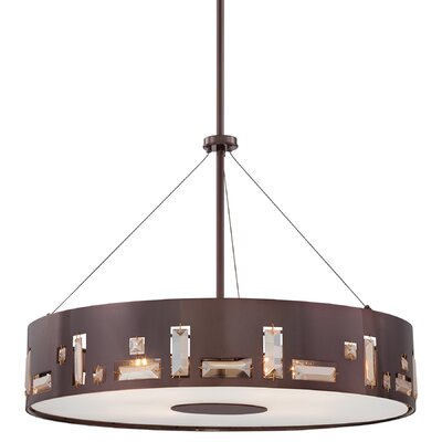 George Kovacs by Minka Bling Bang 5 Light Drum Pendant