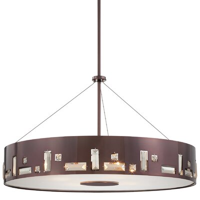George Kovacs by Minka Bling Bang 6 Light Drum Pendant