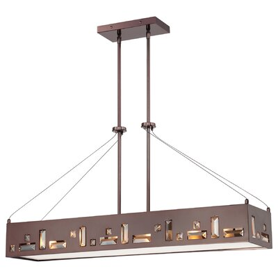 George Kovacs by Minka Bling Bang 6 Light Kitchen Island Pendant