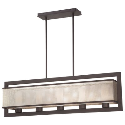 George Kovacs by Minka Mainly Mesh 5 Light Kitchen Island Pendant