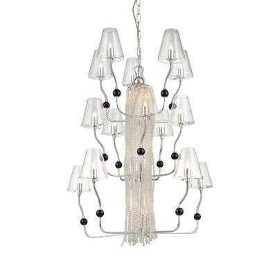 George Kovacs by Minka Families 21 Light Chandelier with Flexible Arms