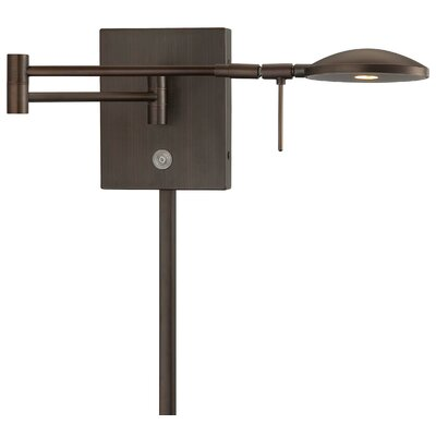 George Kovacs by Minka Reading Room 1 Light Swing Arm Wall Lamp