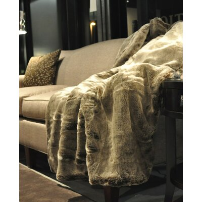 Faux Fur Throw And Pillow Set : Posh Pelts Wayfair