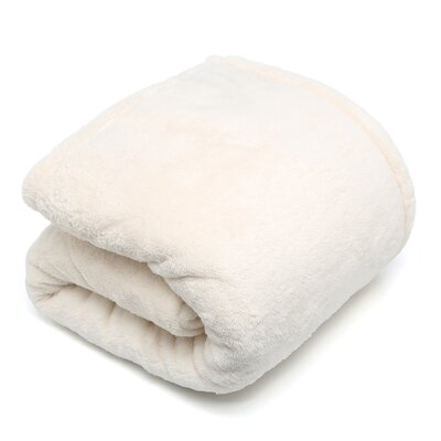 Posh Pelts Chinchilla Faux Fur Acrylic Throw Blanket and Pillow Set