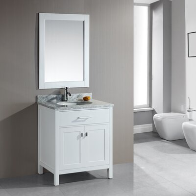 "Design Element London 30"" Single Sink Vanity Set"