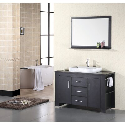 "Design Element Washington 48"" Single Sink Vanity Set"