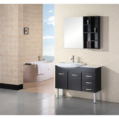 "Design Element Tustin 43"" Single Sink Vanity Set"