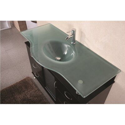"Design Element Huntington 48"" Single Sink Vanity Set"