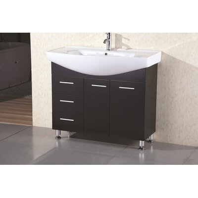 "Design Element Sierra 40"" Single Sink Vanity Set"