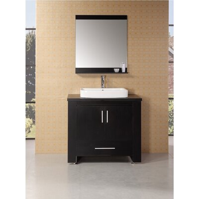 "Design Element Washington 36"" Modern Bathroom Vanity Set"