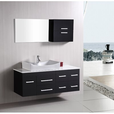 "Design Element Picks Springfield 55"" Single Sink Vanity Set"
