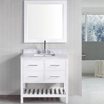 "Design Element 36"" Single Bathroom Vanity Set"