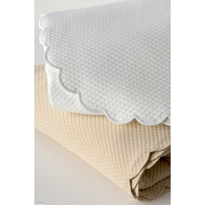 Ivone Scalloped Coverlet Collection