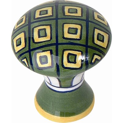 Atlas Homewares Ceramic Geo Knob