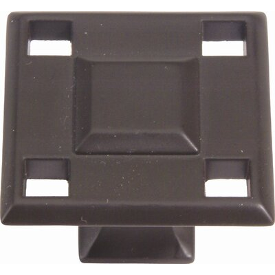 "Atlas Homewares Craftsman Modern 1.3"" Square Knob"