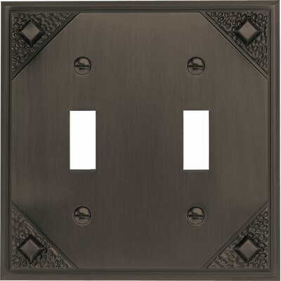 "Atlas Homewares 4.5"" Craftsman Double Toggle"
