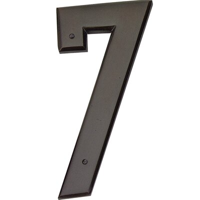 "Atlas Homewares 5.5"" Mission House Numbers"