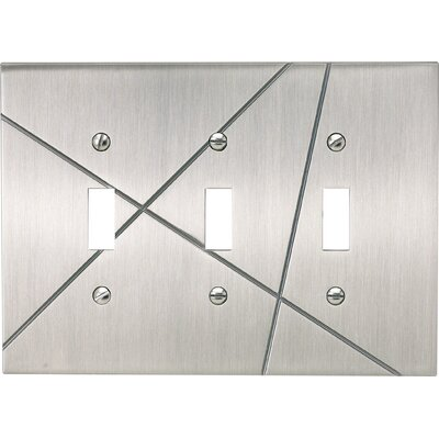 "Atlas Homewares 5"" Modernist Triple Toggle"