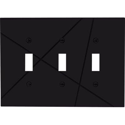 "Atlas Homewares 5"" Modernist Triple Toggle"