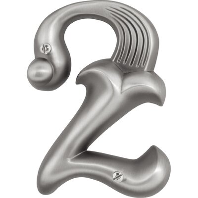 "Atlas Homewares 4"" Alhambra House Numbers"