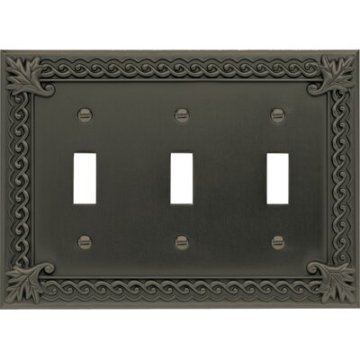 "Atlas Homewares 6.75"" Venetian Triple Toggle"