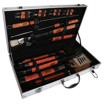 Pushette Professional 18 Piece BBQ Tool Set
