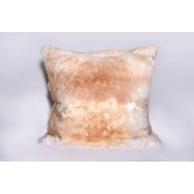 Deluxe Comfort Alpaca Fur Pillow