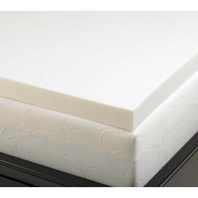 "Deluxe Comfort 2"" Memory Foam Mattress Topper"