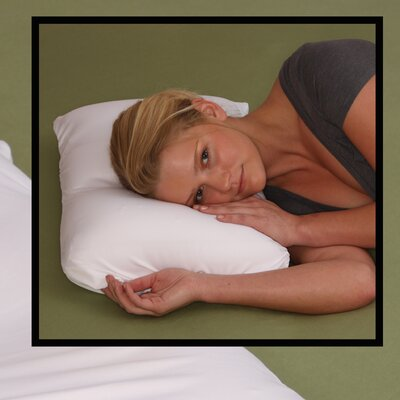 Deluxe Comfort Microbead Cloud Contour Pillow