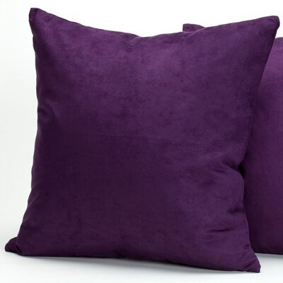 Deluxe Comfort Microsuede Decorative Pillow (Set of 2)