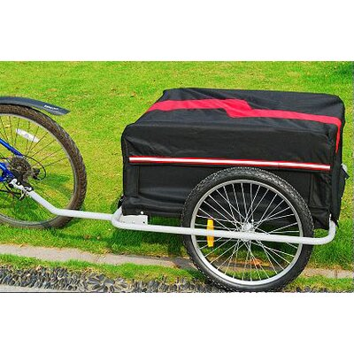 Aosom LLC Cargo Bike Trailer