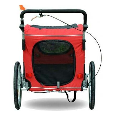 Aosom LLC Elite II Pet Carrier Bike Trailer