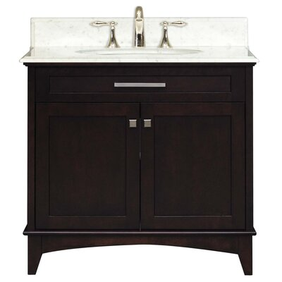 "Water Creation Manhattan 36"" Single Sink Vanity Set"