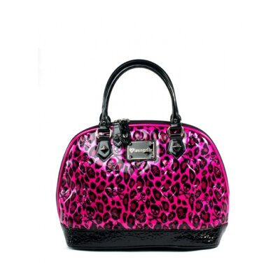 Loungefly Skull & Hearts Embossed Handbag