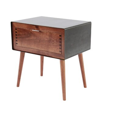 Miles & May Haven 1 Drawer Nightstand