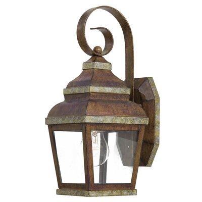 Great Outdoors by Minka Mossoro Small Outdoor Wall Lantern