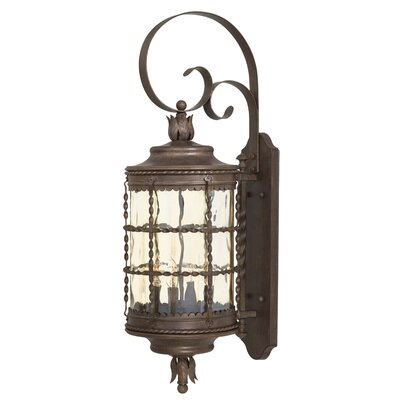 Great Outdoors by Minka Mallorca 4 Light Outdoor Wall Lantern