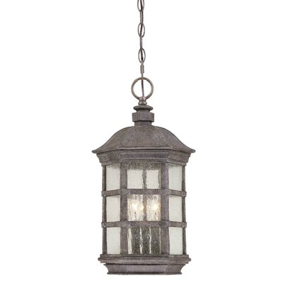 Great Outdoors by Minka Lighthouse Road 3 Light Outdoor Chain Hanging Lantern