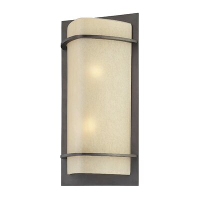 Great Outdoors by Minka Valencia Bay 2 Light Outdoor Pocket Lantern