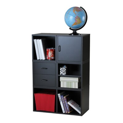 Foremost Modular Storage Five in One System in Black