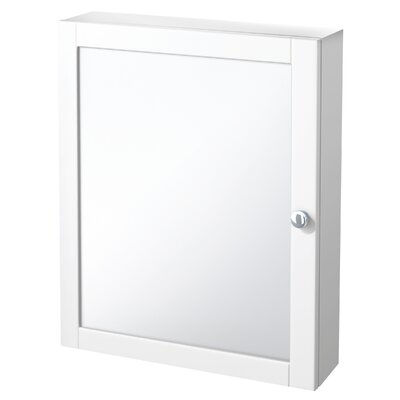 "Foremost Columbia 19.05"" x 23.9"" Surface Mount Medicine Cabinet"