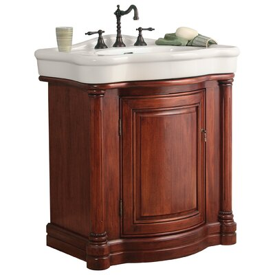 "Foremost Wingate 31.86"" Bathroom Vanity with China Top"