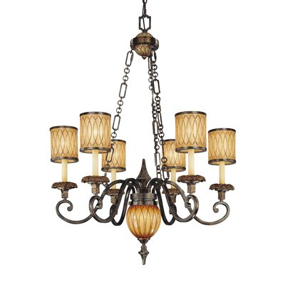 Metropolitan by Minka Terraza Villa 7 Light Chandelier