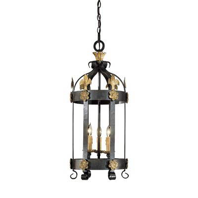 Metropolitan by Minka Montparnasse 3 Light Foyer Pendant