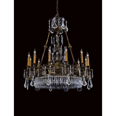 Metropolitan by Minka Vintage 10 Light Chandelier