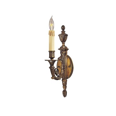 Metropolitan by Minka Metropolitan One Light Wall Sconce in Dark Flemish