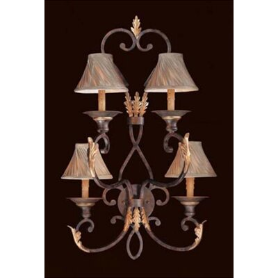 Metropolitan by Minka Zaragoza 4 Light Wall Sconce