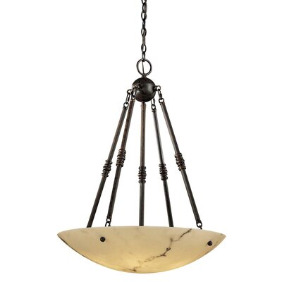 Metropolitan by Minka Virtuoso 5 Light Inverted Pendant
